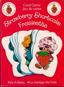 Strawberry Shortcake Pick-A-Berry Card Game