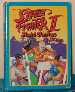 Street Fighter II- World Warriors Card Game