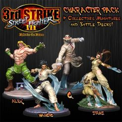 Street Fighter: The Miniatures Game – Street Fighter III Character Expansion