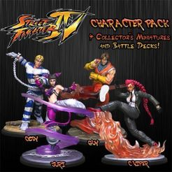 Street Fighter: The Miniatures Game – Street Fighter IV Character Expansion