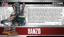 Street Masters: Hanzo