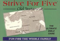 Strive For Five: Old Testament