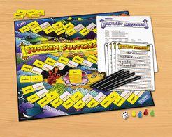 Sunken Suffixes Vocabulary Game