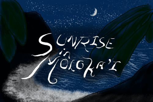 Sunrise in Moloka'i
