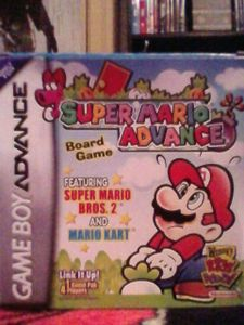 Super Mario Advance Board Game