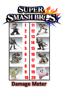 Super Smash Bros. The Board Game