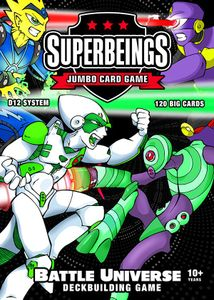 Superbeings Jumbo Card Game
