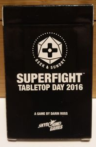 Superfight: Tabletop Day 2016 Promo Pack