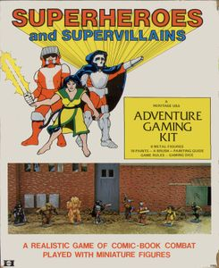 Superheroes and Supervillains