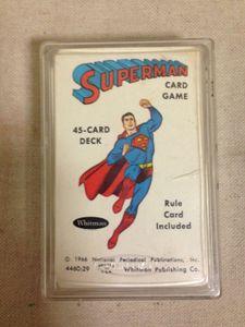 Superman Card Game