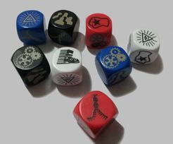 SuperPower SmackDown! Battle Dice Game