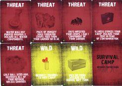 Survival Camp: Kickstarter Exclusive Threat Cards