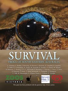 Survival: Frogs of South Eastern Australia