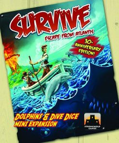 Survive: Escape from Atlantis! Dolphins & Dive Dice Mini Expansion