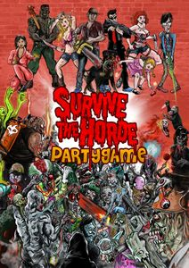 Survive The Horde Party Game