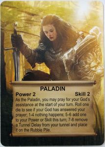 Sword of Kings: Paladin Promo Card