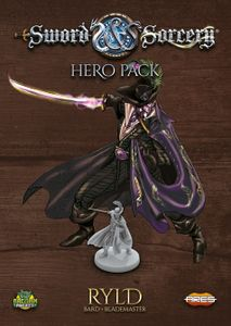 Sword & Sorcery: Hero Pack – Ryld Chaotic Bard / Lawful Blademaster