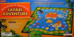 Synonym & Antonym Safari Adventure Vocabulary Game