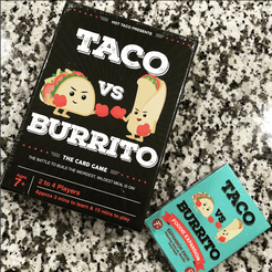 Taco vs. Burrito: Foodie Expansion Pack