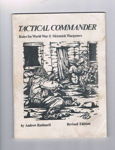 Tactical Commander: World War II Skirmish Rules