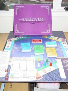 Takeover: The New Zealand Sharemarket Game