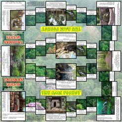 Talisman Quests: The Rainforest (Fan expansion for Talisman)