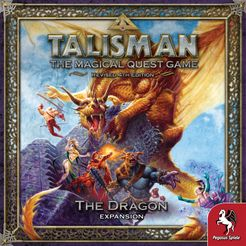 Talisman (Revised 4th Edition): The Dragon Expansion