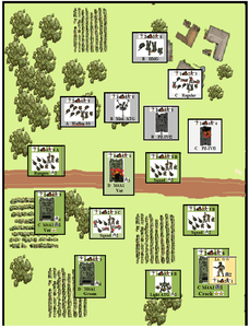 Tank Platoon: West Front – A Solitaire Game of WWII Armored Combat on the Western Front.
