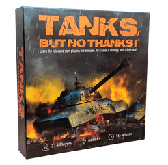 Tanks, but no thanks!