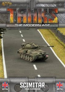 TANKS: The Modern Age – British Scimitar Tank Expansion
