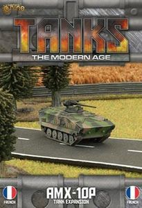 TANKS: The Modern Age – French AMX-10P Tank Expansion