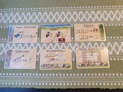 Targi: Alternative Border Cards