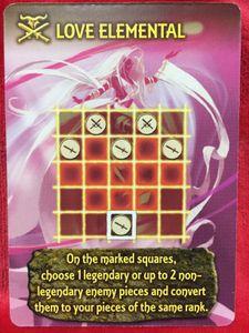 Tash-Kalar: Arena of Legends – Love Elemental Promo Card