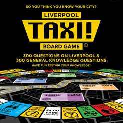 Taxi! Board Game: Liverpool