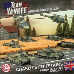 Team Yankee: Charlie's Chieftains – British Armored Squadron