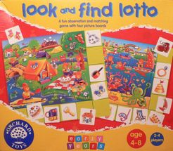 Teddy Bear Look and Find Lotto