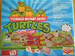 Teenage Mutant Hero Turtles: 3D spel