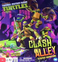 Teenage Mutant Ninja Turtles: Clash Alley Strategy Boardgame