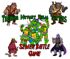 Teenage Mutant Ninja Turtles: Sewer Battle Game