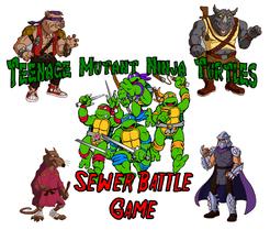 Teenage Mutant Ninja Turtles: Sewer Battle Game