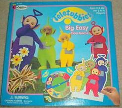 Teletubbies Colorforms Stick-On Game