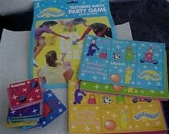 Teletubbies Match Party Game