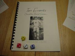 Ten Events Decathlon Board Game