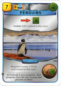 Terraforming Mars: Penguins Promo Card