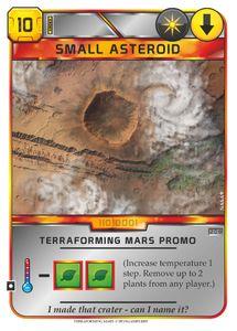 Terraforming Mars: Small Asteroid Promo Card