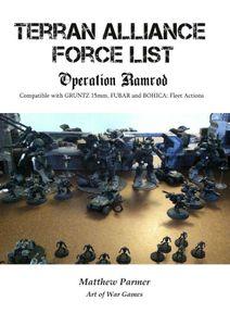 Terran Alliance Force List: Operation Ramrod