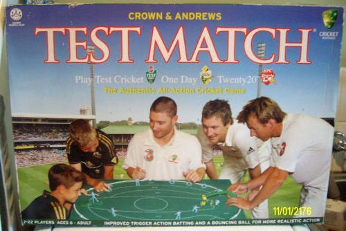 Test Match (second edition)