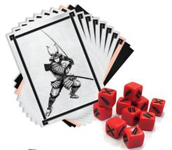 Test of Honour: The Samurai Miniatures Game – Dice & Cards Expansion Set