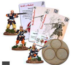 Test of Honour: The Samurai Miniatures Game – Sohei Musketmen