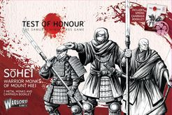 Test of Honour: The Samurai Miniatures Game – S?hei: Warrior Monks of Mount Hiei